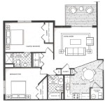 Floor Plan - Cedar Hills Apartments